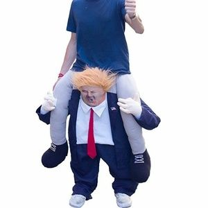 FJerry Other - FJerry Adult Ride On Trump Costume Halloween OS
